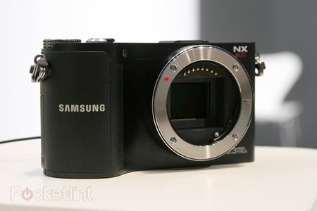 Samsung NX200 hands-on
