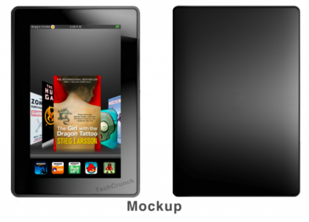 Amazon Kindle Tablet gets fondled ahead of November release