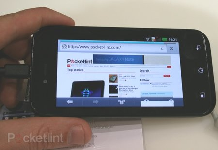 LG Optimus Sol pictures and hands-on