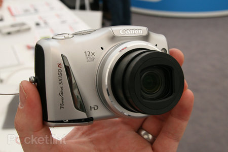 Canon PowerShot SX150 IS pictures and hands-on
