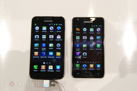 Samsung Galaxy S II LTE pictures and hands-on