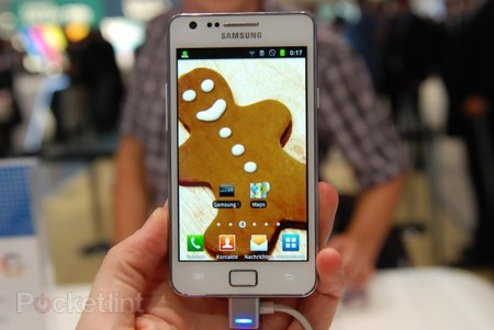 White Samsung Galaxy S II pictures and hands-on