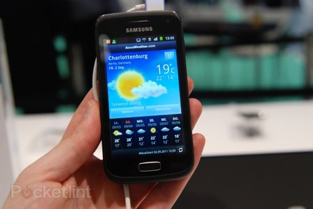 Samsung Galaxy W pictures and hands-on