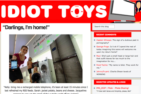 WEBSITE OF THE DAY - Idiot Toys