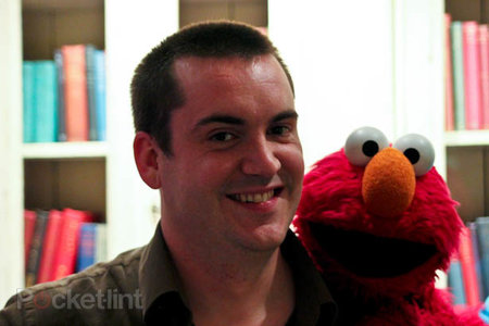 Pocket-lint meets Elmo