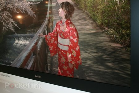 Sharp 8K4K LCD TV eyes-on - photo 1