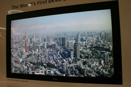 Sharp 8K4K LCD TV eyes-on - photo 2