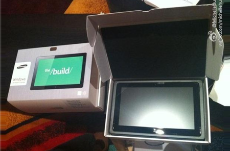 Samsung Windows 8 tablet leaked ahead of Microsoft Build event
