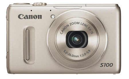 Canon PowerShot S100 arrives - compact with full manual controls