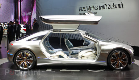 Mercedes-Benz F125 Concept pictures and hands-on, with video - photo 1