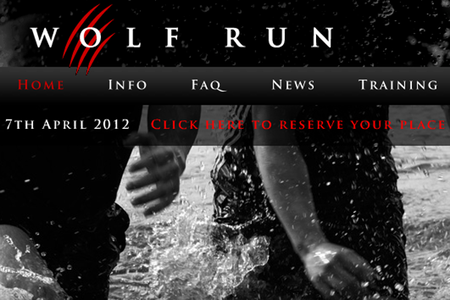 WEBSITE OF THE DAY - The Wolf Run