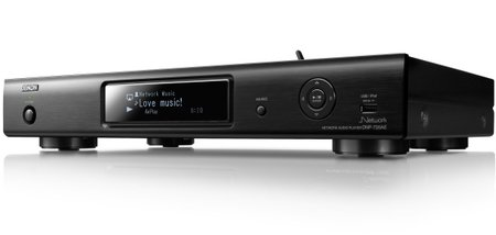 Denon DNP-720AE Apple AirPlay enabled network audio player streams in