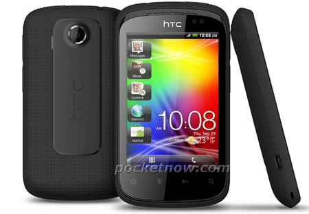 HTC Explorer official shots leaked