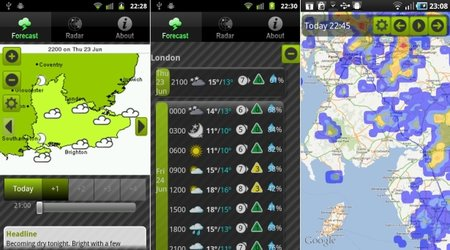 APP OF THE DAY: UK Weather review (Android)