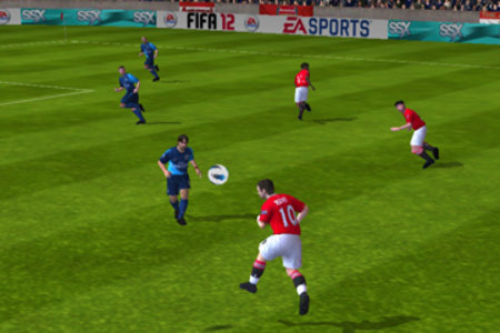FIFA 12 iPad pictures and hands-on