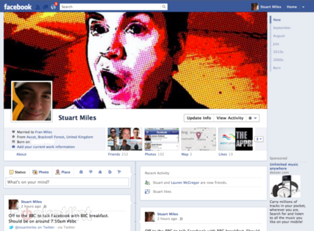 How to get new Facebook Timeline right now