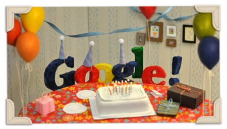 Happy 13th Birthday: Google celebrates with new doodle