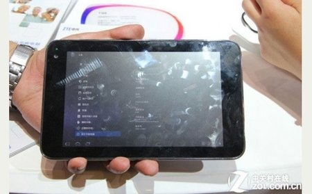 Nvidia Tegra 3 Kal-El ZTE tablet spotted in China