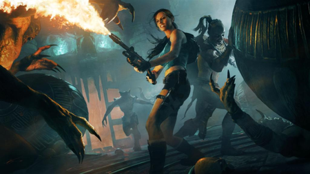 Xperia Play brings Lara Croft to Android