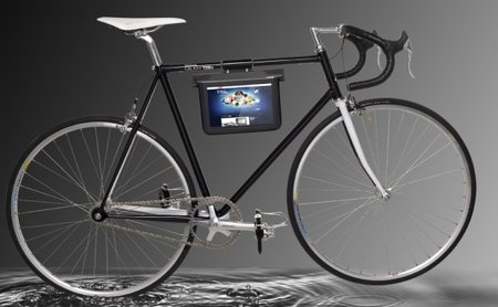 Samsung Galaxy Tab 10.1: The weirdest tab accessory yet - a bike