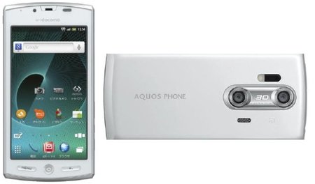 Sharp Aquos 3D Android phone comes to Europe with Orange