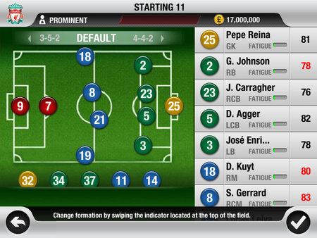 APP OF THE DAY: FIFA 12 review (iPad / iPhone / iPod touch) - photo 38