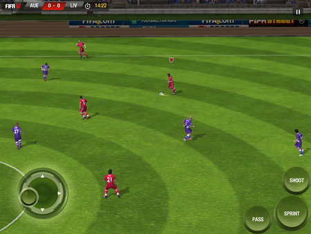 APP OF THE DAY: FIFA 12 review (iPad / iPhone / iPod touch) - photo 7