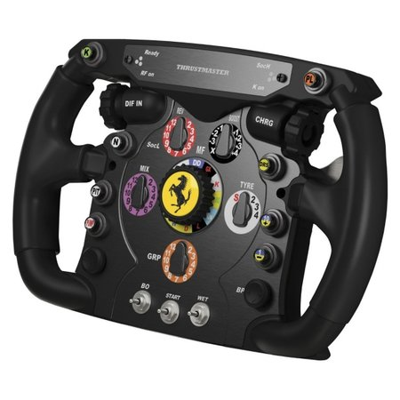 Ferrari F1 fans to relive F1 season with Thrustmaster Ferrari F1 Wheel