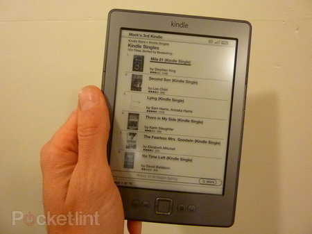 New Amazon Kindle selling like hot cakes