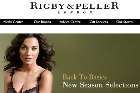 WEBSITE OF THE DAY: Rigby and Peller