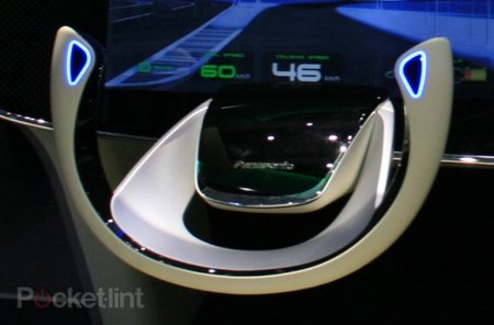 Panasonic car demos the dashboard of tomorrow
