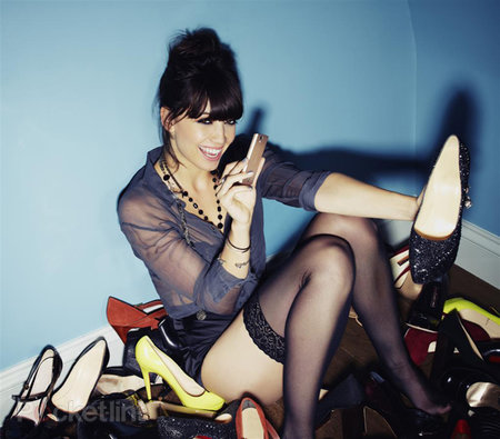 Daisy Lowe in her pants: Sony Ericsson gets sexy for Xperia ray launch pictures