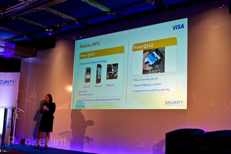 Samsung and Visa to celebrate Olympics with London 2012 phone