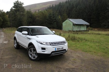 Range Rover Evoque pictures and hands-on