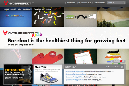 WEBSITE OF THE DAY: Vivo Barefoot