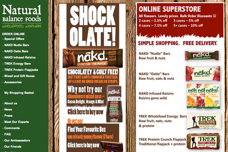 WEBSITE OF THE DAY: Eat Nakd