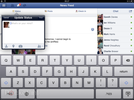 Facebook for iPad goes live - photo 1