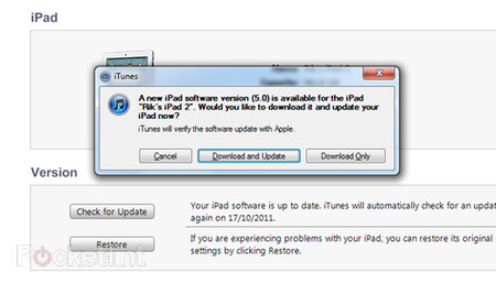 iOS 5 update live and ready for iPad, iPhone and iPod touch