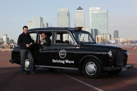 World's first remote control black cab drives into London
