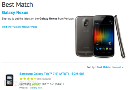 Samsung Galaxy Nexus confirmed by Samsung