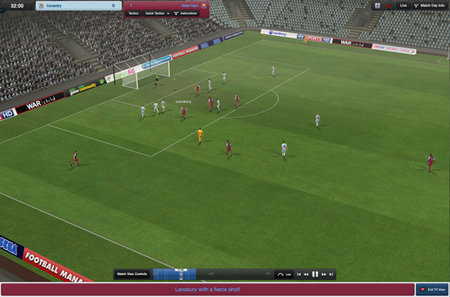 Football Manager 3D match engine coming to iPad within 3 years