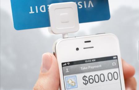 Square's iPhone credit card reader to sell in Walmart