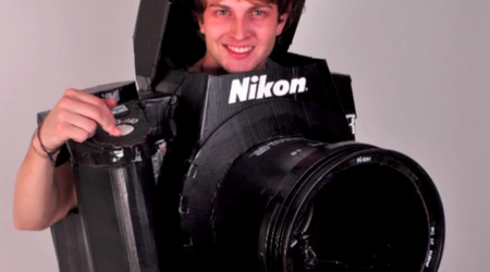 Fully working Nikon Halloween costume should snap a few prizes (video)