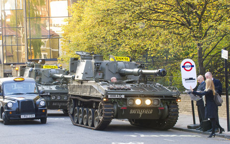 Battlefield 3 Tanksis help London commuters to work on launch day