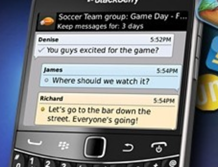 BlackBerry Messenger update makes app sharing easy