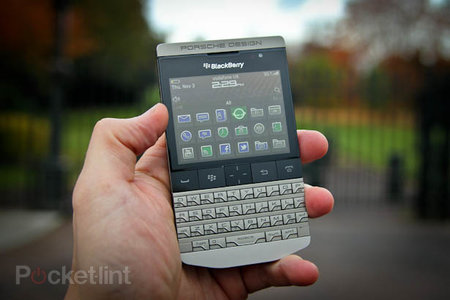 BlackBerry Porsche Design P'9981 pictures and hands-on