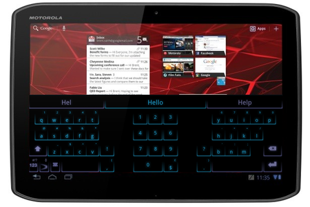 SwiftKey X to come pre-loaded on Motorola Xoom 2