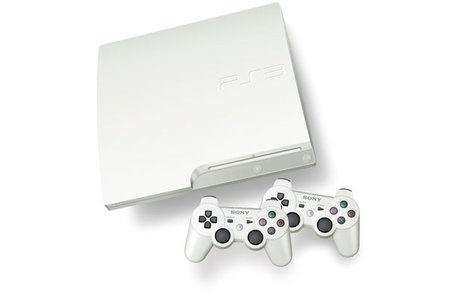 White PS3 goes on sale in UK at GameStop