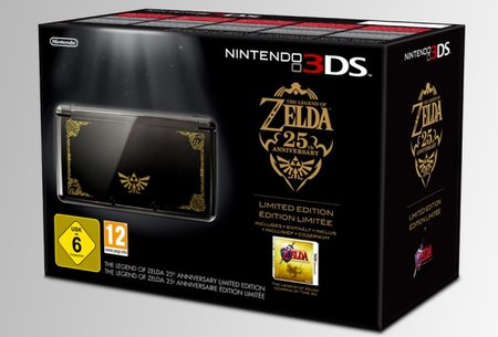Limited Edition Legend of Zelda 3DS hitting the UK
