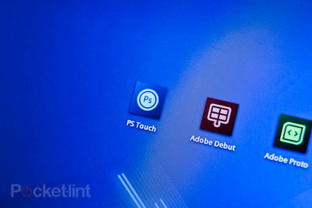 Adobe Photoshop Touch for Android pictures and hands-on